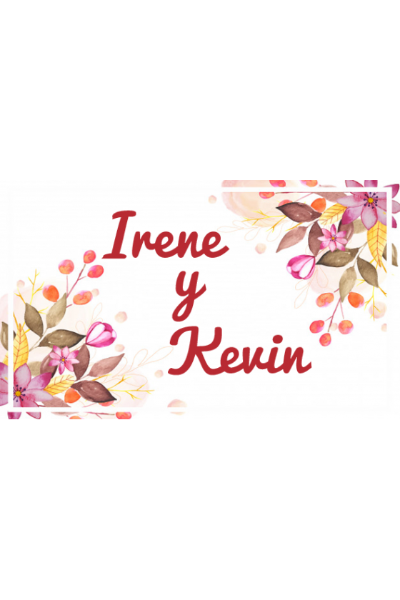 BODA IRENE Y KEVIN