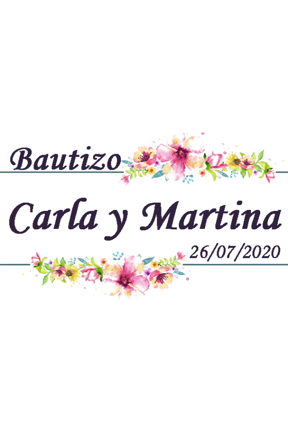BAUTIZO CARLA Y MARTINA