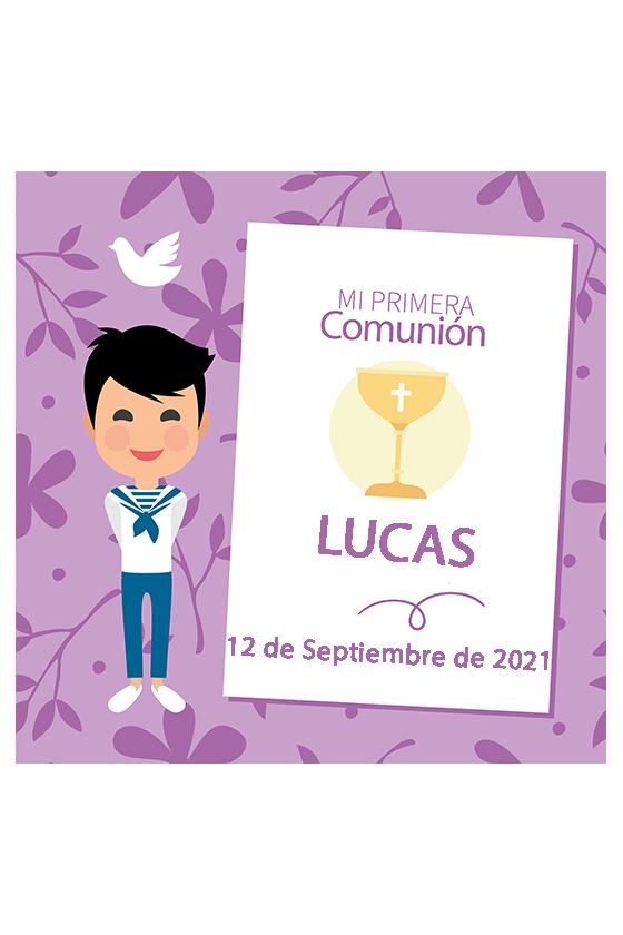 COMUNIÓN LUCAS
