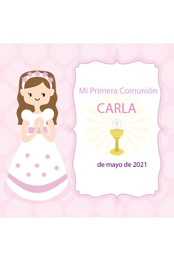 COMUNIÓN CARLA