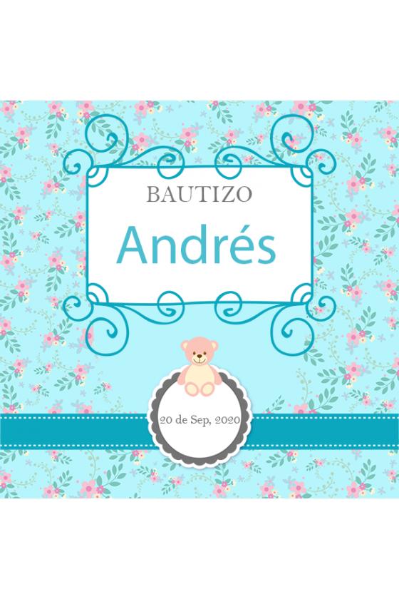 BAUTIZO DE ANDRÉS